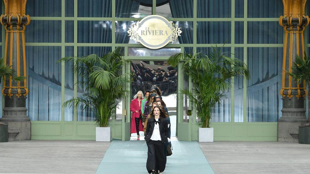 Foto: Un momento del desfile del nuevo Chanel. (Getty)