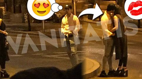 Froilán in love: la exclusiva de  su primer beso en plena calle de Madrid