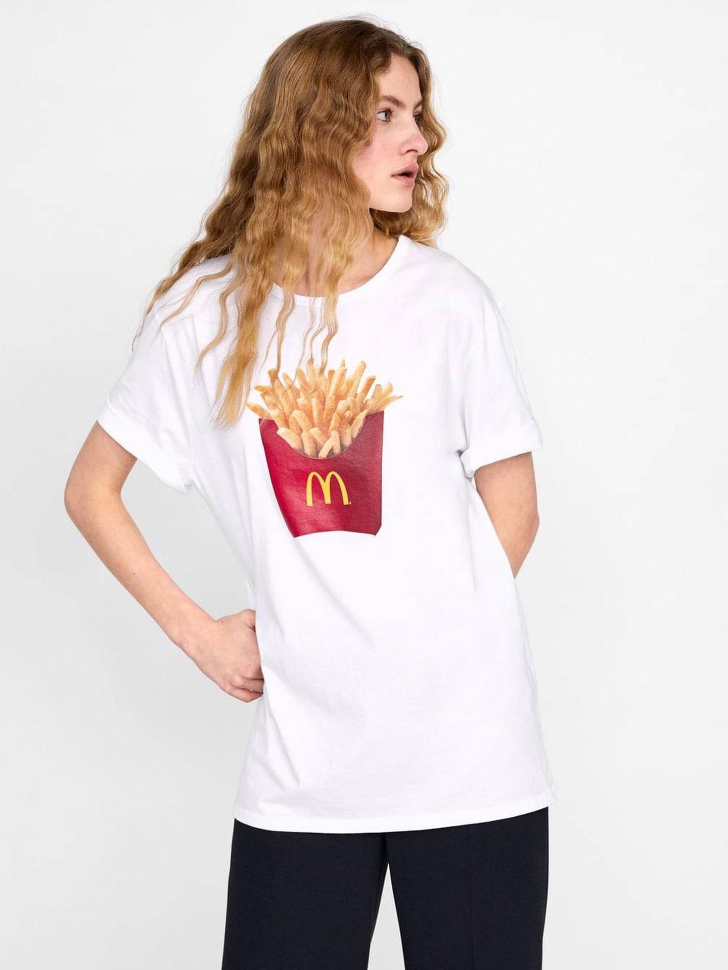 Para comérsela, así es esta camiseta de Zara, 15,95€. (Cortesía)
