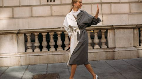 Es tendencia: prendas bicolores, el último hit visto en el street style