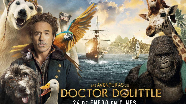 Sorteamos cinco entradas dobles de 'Las aventuras del doctor Dolittle'
