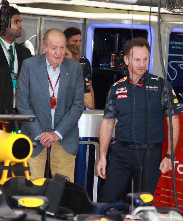 Foto:  El Rey Juan Carlos en Baréin (Gtres)