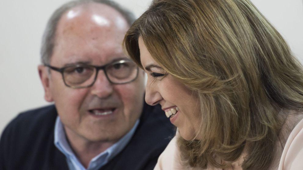 Díaz comunica al PSOE-A que parte con ganas y pensando en Andalucía