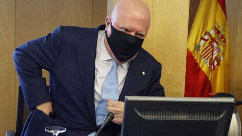Villarejo se encierra durante días en la Audiencia Nacional para analizar sus agendas