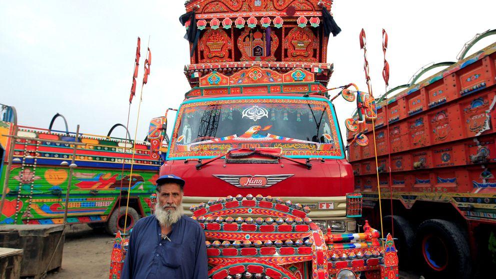 Los camiones de Pakistán, arte sobre cuatro ruedas