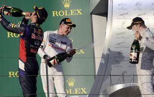 Las pelotas de McLaren dan paso a las lágrimas de un papá orgulloso