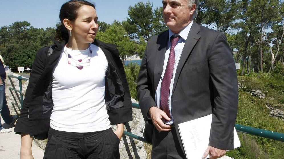 Foto: La fiscal Fanny Bussac y el magistrado Manuel García-Castellón. (EFE)