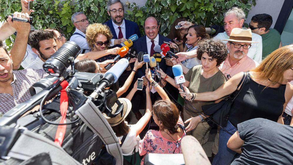 Foto: El expresidente de Murcia, Pedro Antonio Sánchez. (EFE)