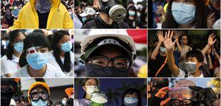 Post de Hong Kong castigará las máscaras en las protestas: 3.000 euros y un año de cárcel