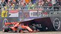 Cuando un piloto de Ferrari dice adiós estrellándose en su último día de trabajo