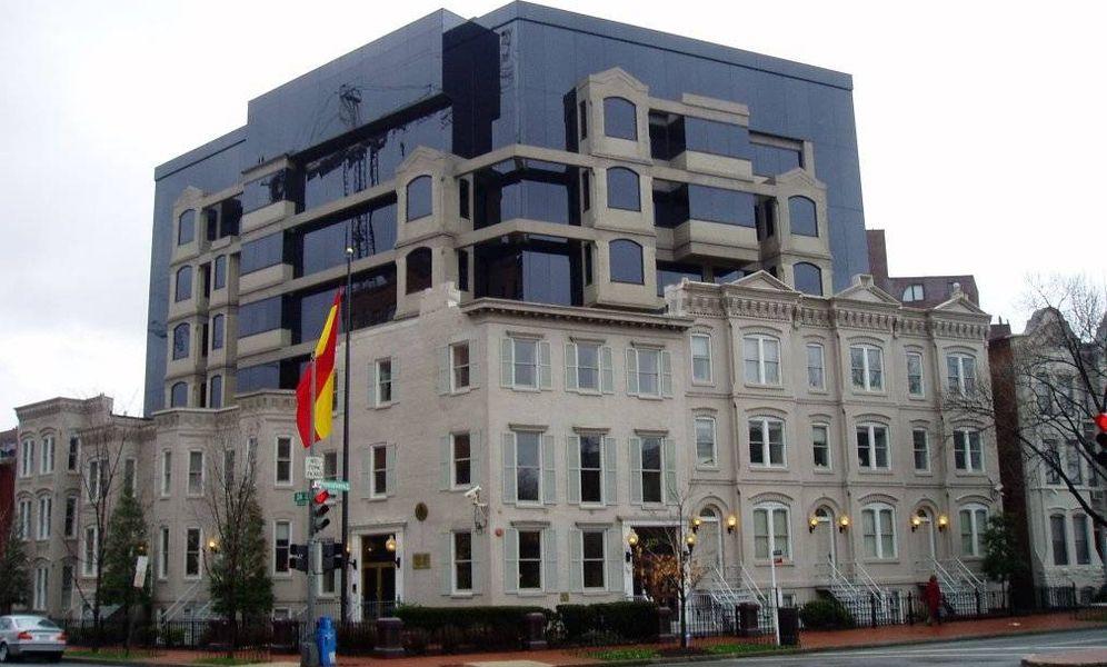 Foto: Embajada de España en Washington. (SimonP/Wikipedia)