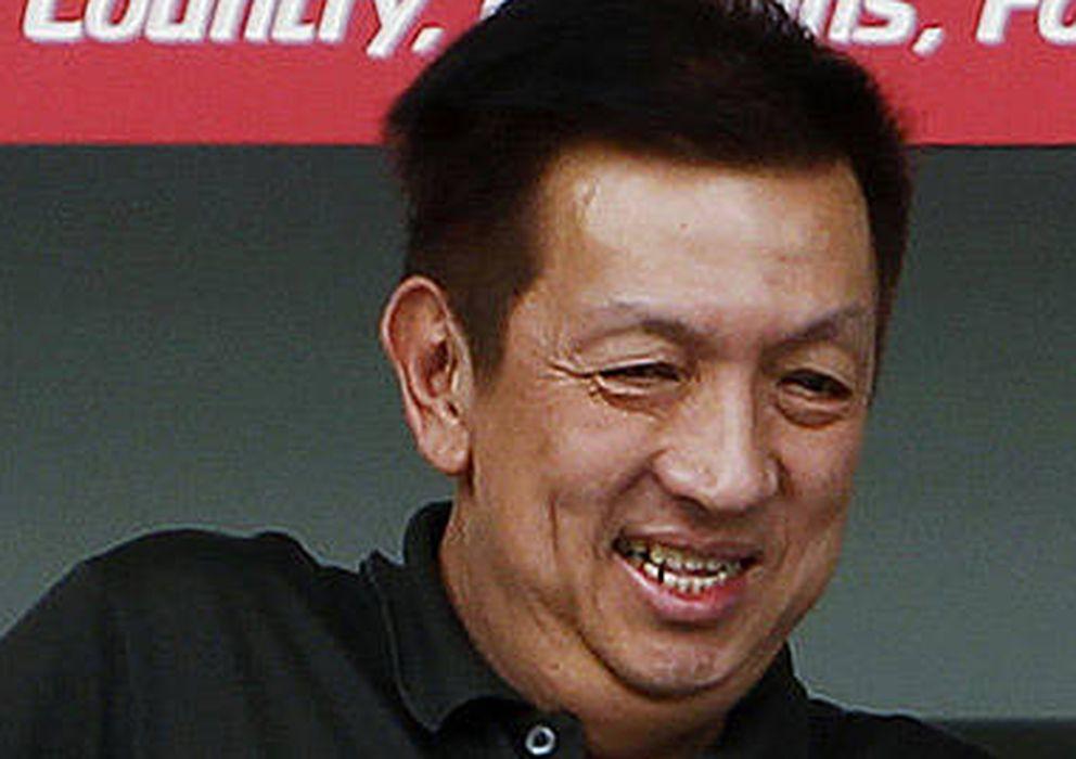 Foto: Peter Lim podría solventar las dificultades del Atlético para reforzarse.
