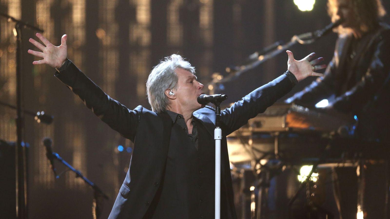 Foto: Bon Jovi este año en la gala del Rock & Roll Hall of Fame (Reuters)