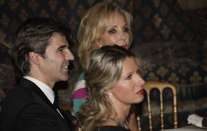 Foto: Anne Igartiburu y Daniel Alcázar, pareja de premio