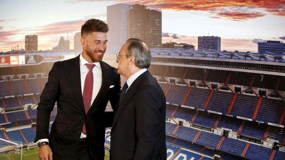 Florentino olvida cuando quiso a Ramos fuera del Real Madrid: Es muy grande