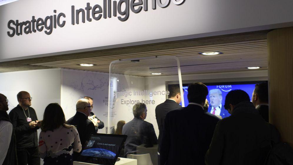 Foto: El Foro de Davos reúne a líderes políticos y económicos de todo el mundo (EFE EPA/Alessandro Della Valle)