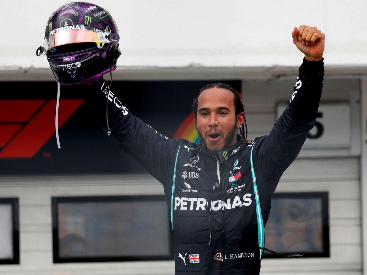 Foto: Lewis Hamilton se llevó la victoria en Hungría. (Reuters)