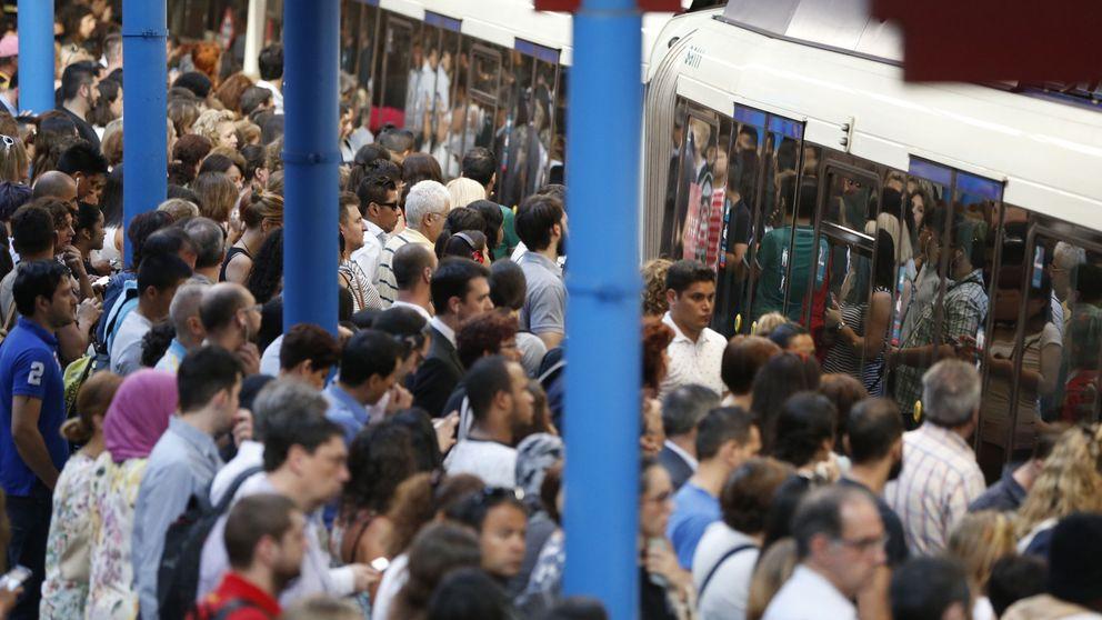 Los maquinistas de Metro van a la huelga: paros de lunes a viernes de 17 a 21 horas