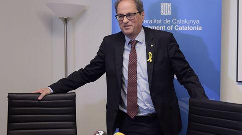 Es intolerable: Torra abandona un acto en EEUU tras chocar con el embajador Morenés