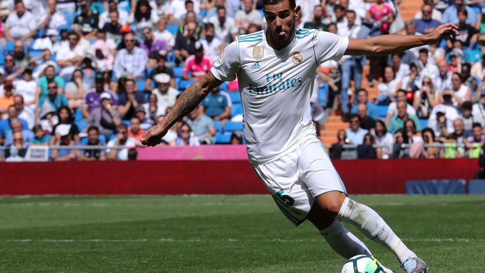 Theo Hernández no espabila para desesperación de Zidane y el Real Madrid
