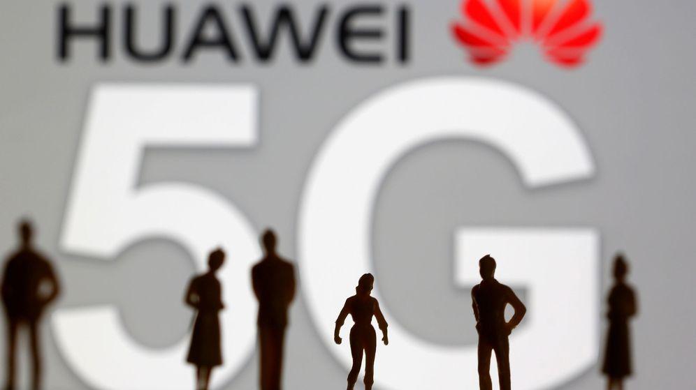Foto: Logo de Huawei 5G (Reuters)