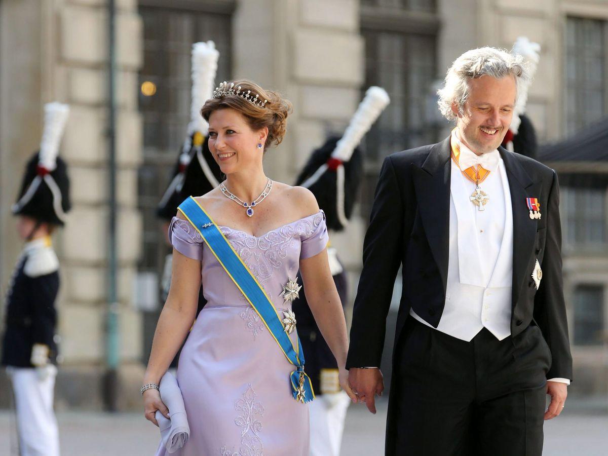 Foto: Ari Behn y la princesa Marta Luisa. (EFE)