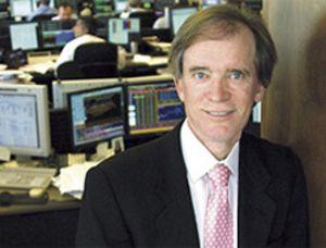 Bill Gross (Pimco) contradice a Buffett y afirma que S&P se ha comportado como una 'columna vertebral'