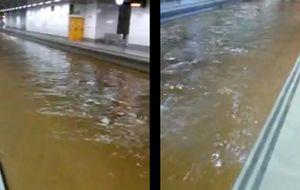 Carreteras inundadas, el AVE cortado... Las lluvias asolan Cataluña