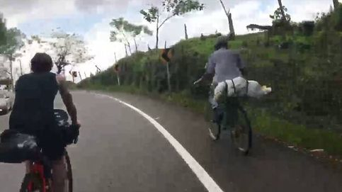 El campesino que 'ridiculizó' a ciclistas profesionales