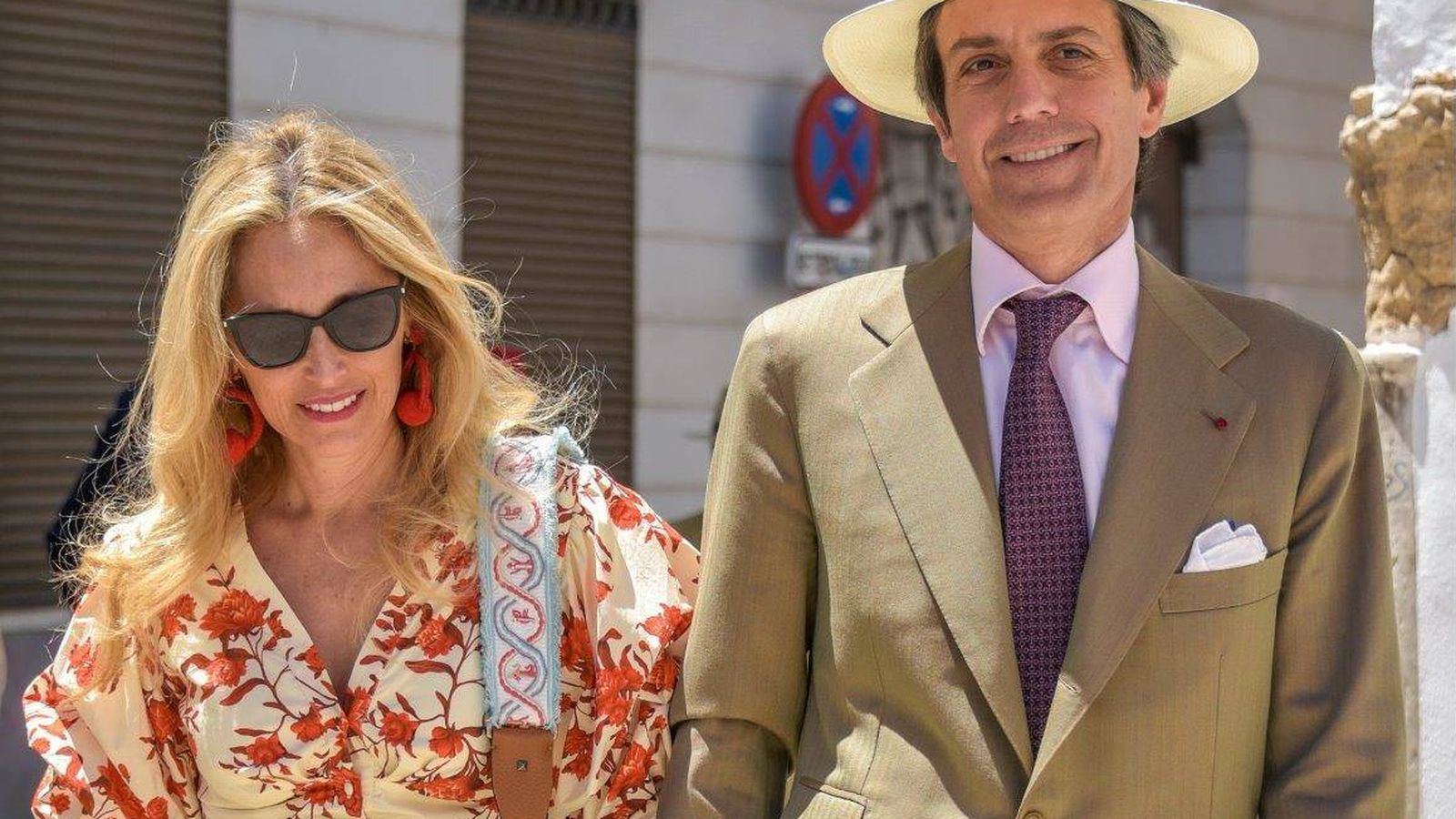 Foto: Pia Getty y José Antonio Ruiz. (Getty)