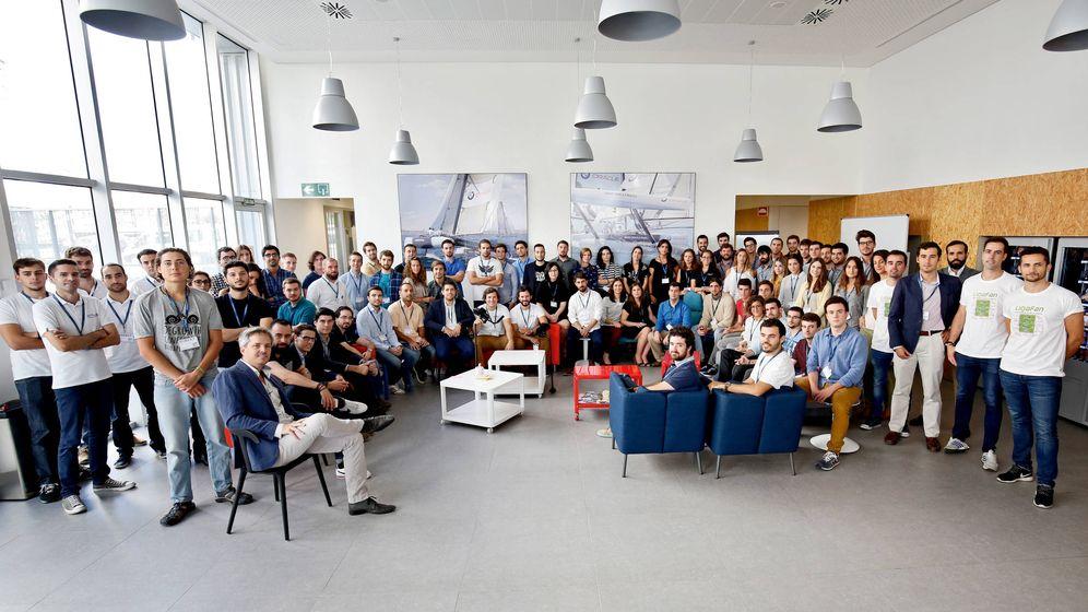 Foto: Los emprendedores seleccionados para la cuarta edición de Lanzadera.