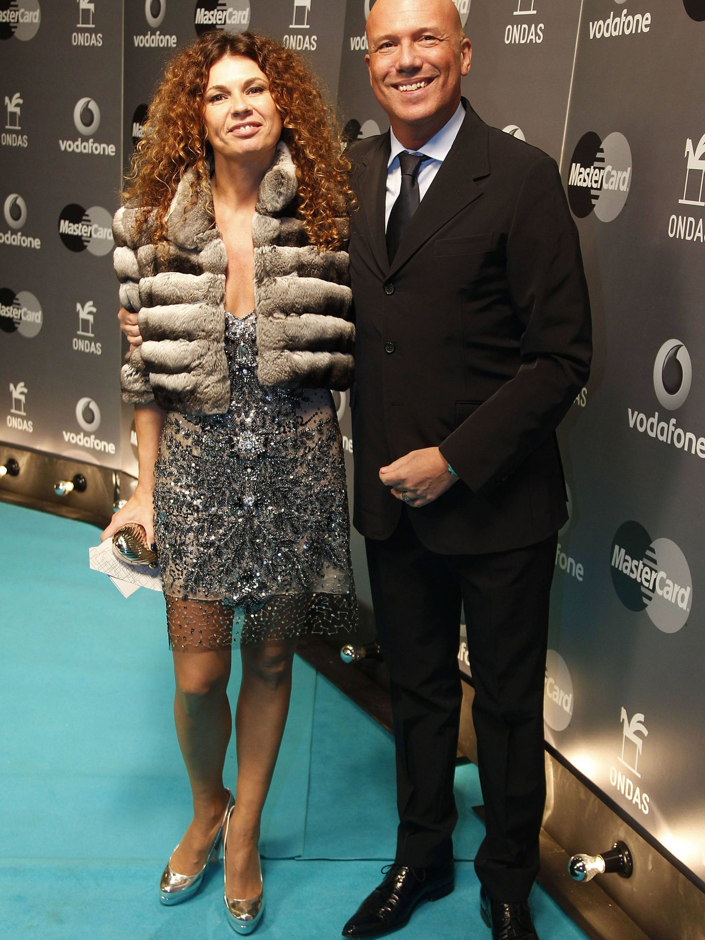 Alfonso Arús y Angie Cárdenas. (Getty)