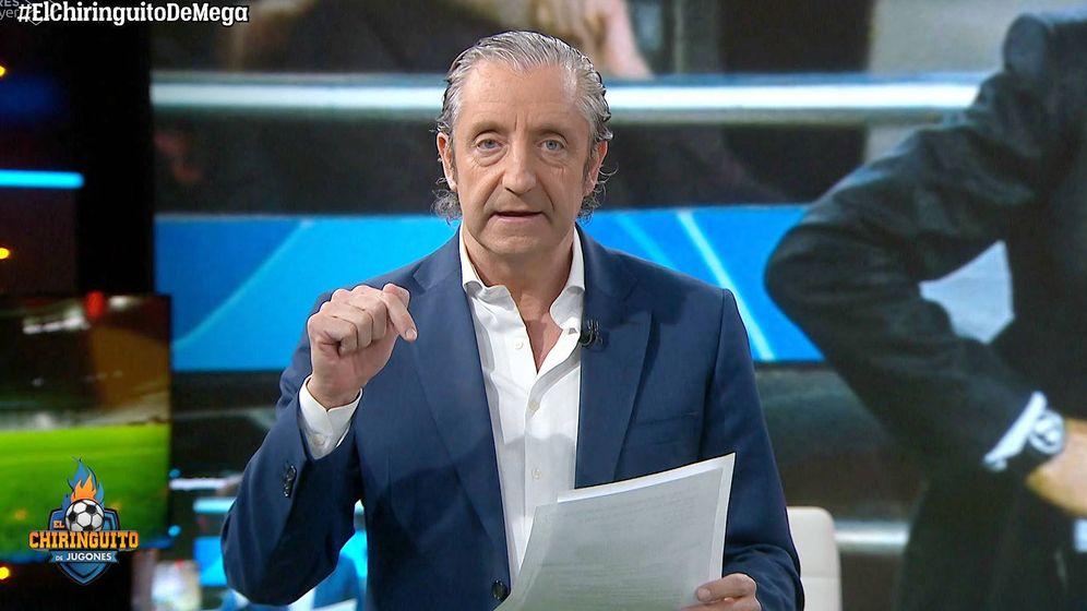 Foto: Josep Pedrerol en 'El chiringuito'. (Atresmedia Televisión)