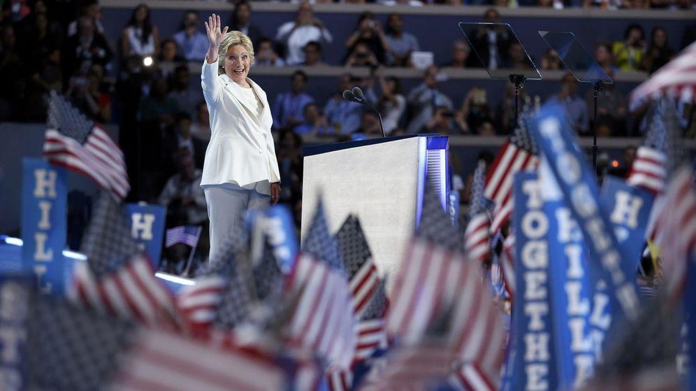 Foto: Hillary Clinton durante la convención demócrata. (Reuters)