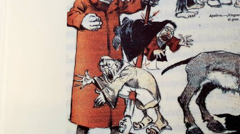 Cuando a Benito Pérez Galdós le hacían caricaturas por no ser un buen español