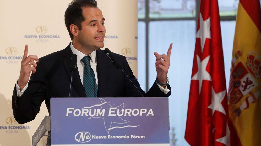 Foto: El candidato de Ciudadanos a la Comunidad de Madrid, Ignacio Aguado (Efe)