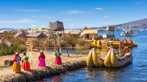 Las sorprendentes islas flotantes del lago Titicaca