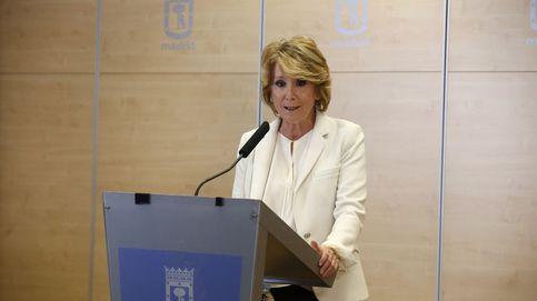 Dimite Esperanza Aguirre: Me siento engañada y traicionada