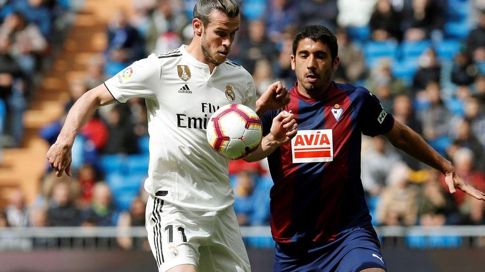 Foto: Gareth Bale jugó 75 minutos este sábado ante el Eibar. (EFE)
