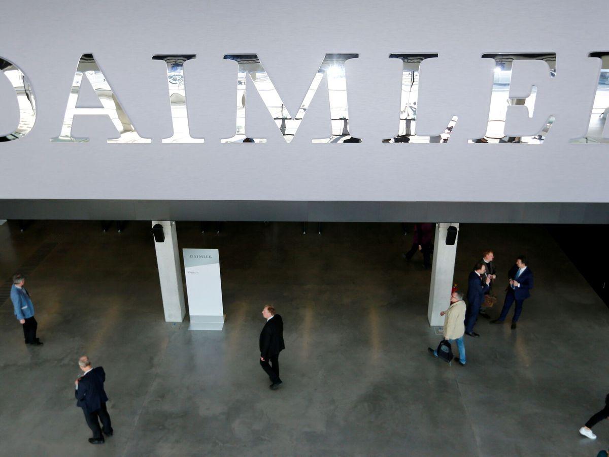 Foto: Daimler, la matriz de Mercedes. (Reuters)