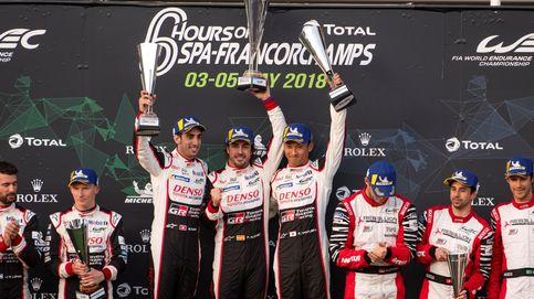 Alonso saborea la victoria cinco años después en un debut soñado con Toyota