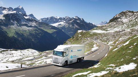 Los 46 camiones de hidrógeno de Hyundai que no paran de recorrer Suiza