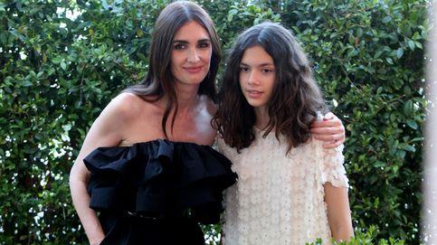 Paz Vega, con su hija y dos looks 'made in Spain' en el Festival de Málaga