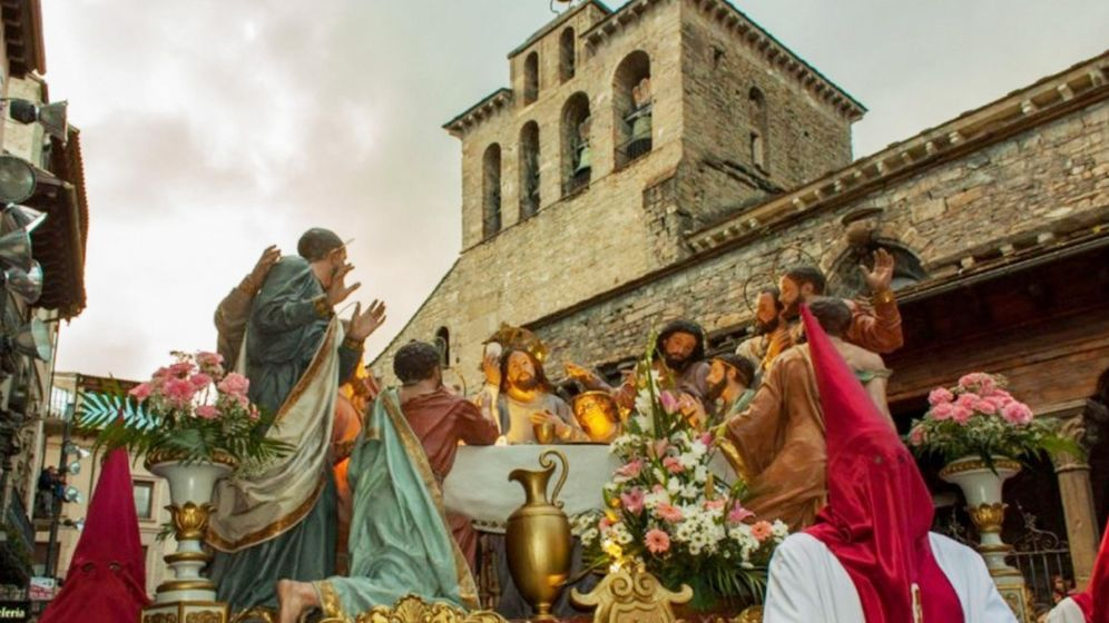 Gastronom a de procesiones pasteler as tapas y for Comida semana santa