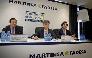 Aguieira Inversiones sale del consejo de Martinsa por discrepancias con las cuentas