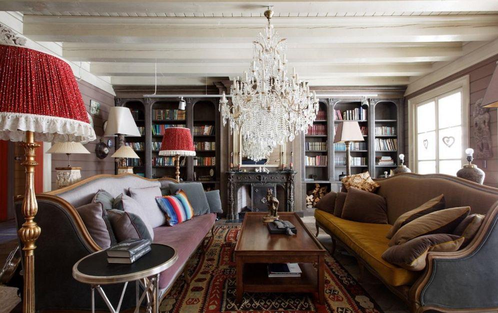 Decoraci n c mo combinar lo moderno con lo vintage en for Decoracion de interiores estilo clasico