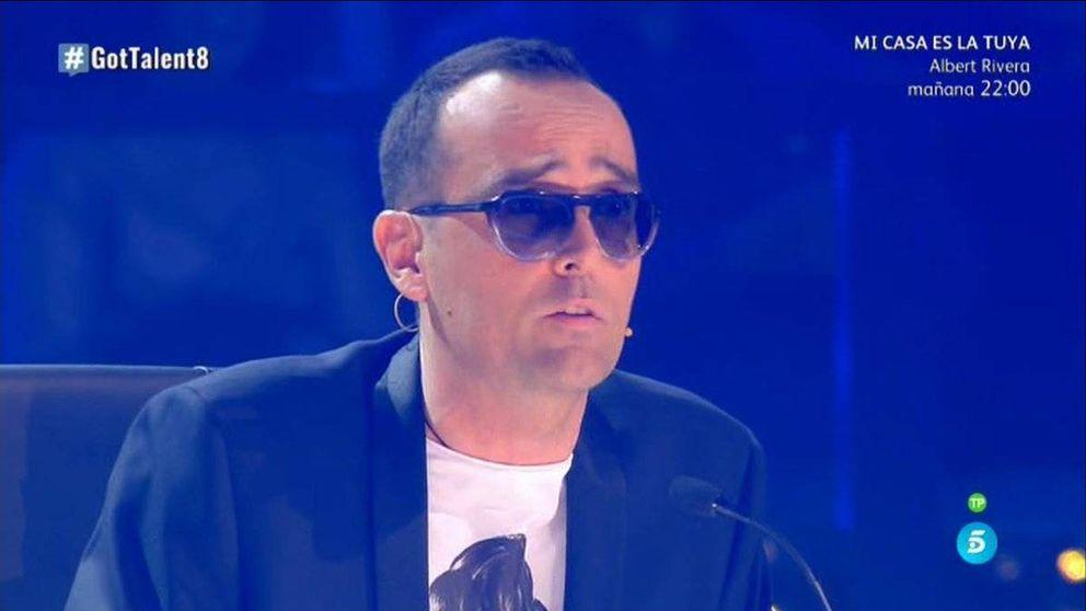 Risto dispara desde 'Got Talent España' contra Rajoy y Hazte Oír