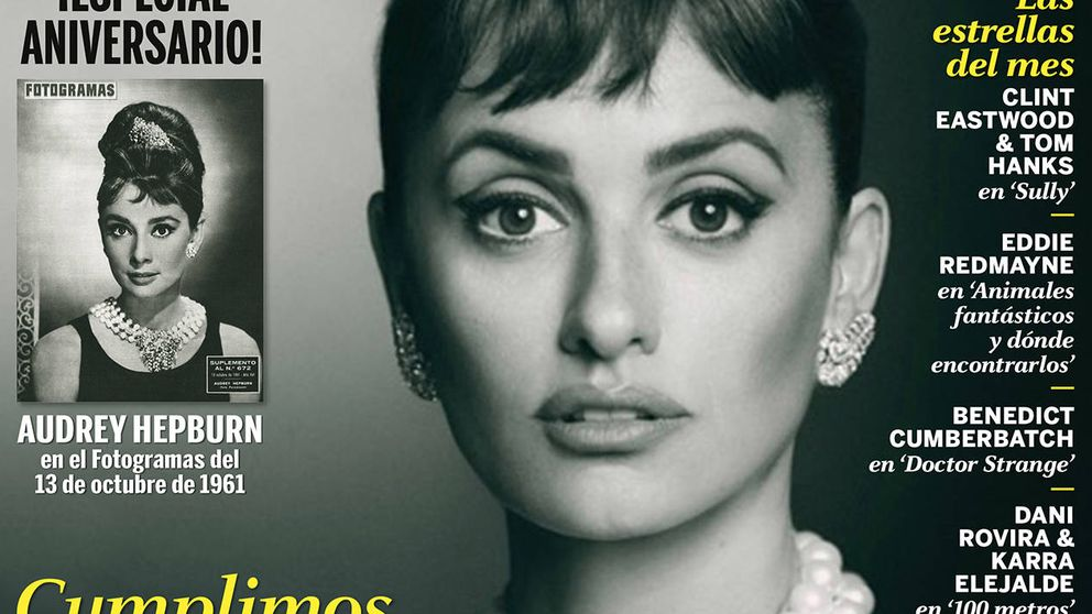 Penélope Cruz, el icono español se mete en la piel de Audrey Hepburn