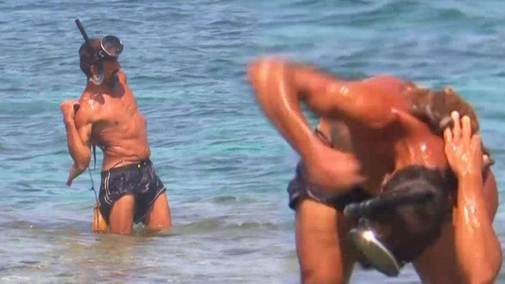 José Luis es brutalmente atacado por un pulpo en 'Supervivientes'