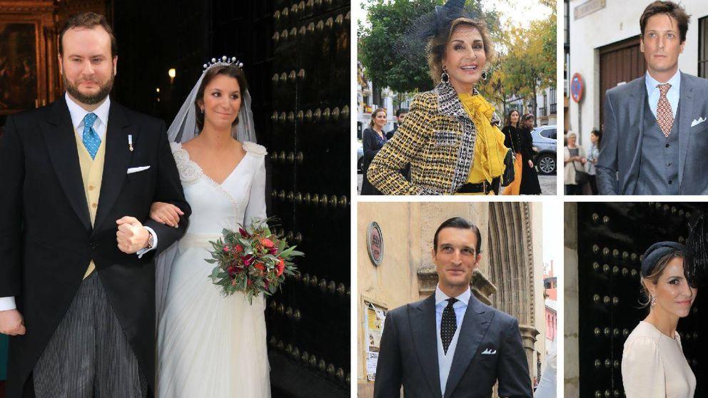 Las fotos de la boda de Casilda, nieta de la duquesa de Medinaceli y sobrina de Naty Abascal